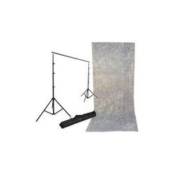 Impact Background Kit with 10 x 24' Tie-Dyed Slate BGT-1024SG-SK