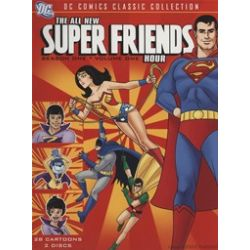 All New Super Friends Hour, The: Season One - Volume One (DVD 1977)