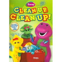 Barney: Clean Up, Clean Up! (DVD 2011)