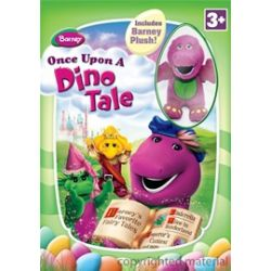 Barney: Once Upon A Dino Tale - With Easter Plush Toy (DVD 2009)