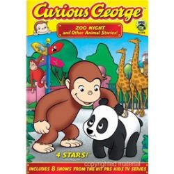 Curious George: Zoo Night And Other Animal Stories (DVD)