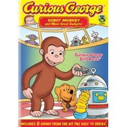 Curious George: Robot Monkey And More Great Gadgets! (DVD)
