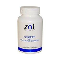ZOI Research, OptiMSM, Plus Glucosamine & Chondroitin, 90 Capsules