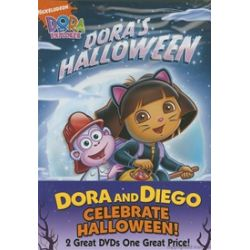Dora And Diego Celebrate Halloween: Dora's Halloween / Diego's Halloween (2 pack) (DVD)