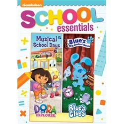 Dora The Explorer: Musical School Days / Blue's Clues: Blue's Big Musical Movie  (2 Pack) (DVD 2014)