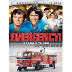 Emergency!: Season Three (DVD 1973)
