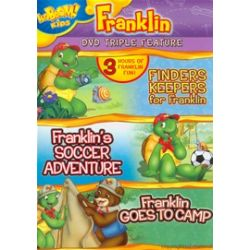 Finders Keepers For Franklin / Frankin's Soccer Adventure / Franklin Goes To Camp (Triple Feature) (DVD 1997)