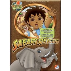 Go Diego Go!: Safari Rescue (DVD 2007)