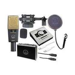 AKG C 414 XL II and Apollo Twin DUO Recording Kit B&H Photo