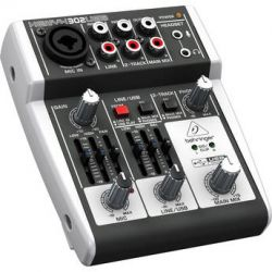Behringer XENYX 302USB 5-Input Compact Mixer and USB 302USB B&H