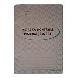 Książka kontroli przedsiębiorcy. Kn-14c