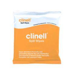 Clinell - chusteczki do usuwania krwi i rozlanych płynów ustrojowych