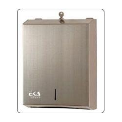 Pojemnik na jednorazowe ręczniki papierowe wykonany ze stali nierdzewnej