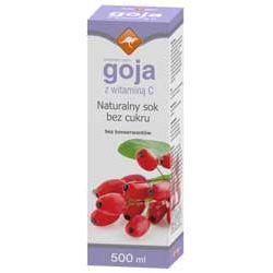 Zdrowie ze znakiem kangura naturalny sok z owoców goji z witaminą C