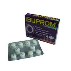 IBUPROM - lek przeciwbólowy i przeciwzapalny