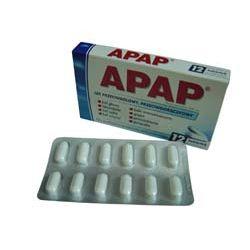 APAP - lek przeciwbólowy, przeciwgorączkowy.