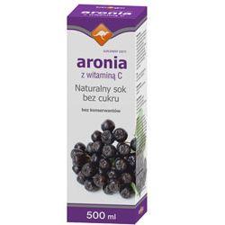 Zdrowie ze znakiem kangura naturalny sok z Aronii