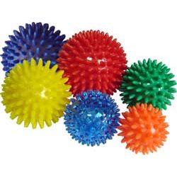 Jeżyk - piłka rehabilitacyjna z kolcami