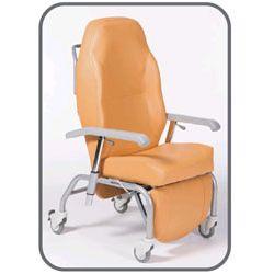 Fotel REPO - wersja z 4 kółkami - elektryczna regulacja