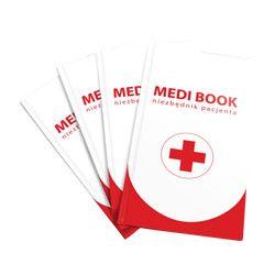Medibook – książka / niezbędnik pacjenta (dane, leki, kontakty)