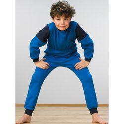 Kombinezon nocny - piżama dla dzieci z zamkiem