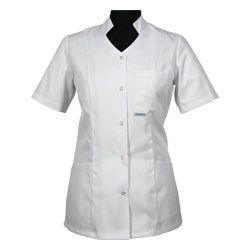 Bluza medyczna dla pielęgniarki 011 - stójka leżąca