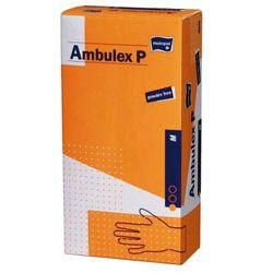 AMBULEX P - rękawiczki lateksowe bezpudrowe pokryte polimerem