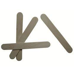 Drewniane szpatułki laryngologiczne