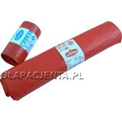 Worki na odpady medyczne czerwone 120l
