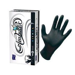 AMBULEX NITRYL - rękawice nitrylowe bezpudrowe czarne
