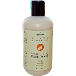 Zion Health, Adama Minerals, Ancient Clay Face Wash, 8 fl oz (236 ml)