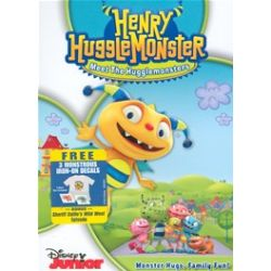 Henry Hugglemonster: Meet The Hugglemonsters! (DVD 2013)