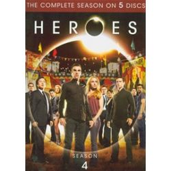 Heroes: Season 4 (Repackage) (DVD 2009)