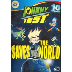 Johnny Test Saves The World (DVD 2007)