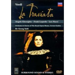 La Traviata: Verdi: Georg Solti: Royal Opera (DVD 1994)