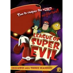 League Of Super Evil: Megaset (DVD)