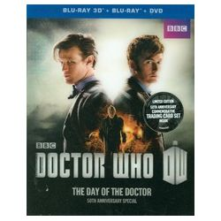 Doctor Who: The Day Of The Doctor 3D (Blu-ray 3D + Blu-ray + DVD) (Blu-ray  2013)