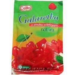 Galaretka o smaku wiśniowym - bezglutenowa