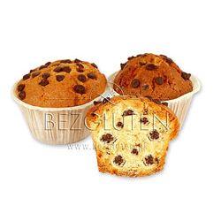 Muffinsy z kawałkami czekolady bezglutenowe