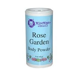 WiseWays Herbals, LLC, Rose Garden Body Powder, 3 oz (85 g)