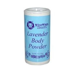 WiseWays Herbals, LLC, Lavender Body Powder, 3 oz (85 g)