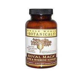 Whole World Botanicals, Royal Maca, Bone & Hormone Support, 120 Veggie Caps