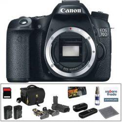 Canon  EOS 70D DSLR Camera Deluxe Kit  B&H Photo Video