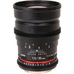 Bower 35mm T1.5 Cine Lens for Sony Alpha SLY35VDS B&H Photo