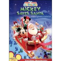 Mickey Mouse Clubhouse: Mickey Saves Santa (DVD)