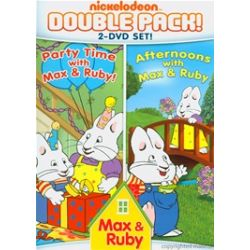 Max & Ruby: Afternoons With Max & Ruby / Max & Ruby: Party Time With Max & Ruby (Double Feature) (DVD 2006)