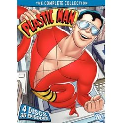 Plastic Man: The Complete Collection (DVD 1979)