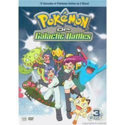 Pokemon: Diamond & Pearl Galactic Battles - Vol. 5 & 6 (2 Pack) (DVD)