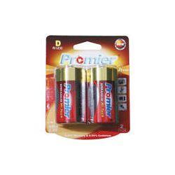 Promier D Super Alkaline High-Tech Batteries (2-Pack) HTLR20-BP2