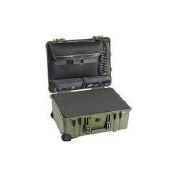 Pelican 1560LFC Case With Foam In Base (Green) 1560-008-130 B&H